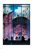 Secret Avengers 35 Cover: Sentinel Plastic Sign by Arthur Adams