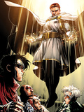 Avengers: The Childrens Crusade No.7: Von Doom and Victor Plastic Sign by Jim Cheung
