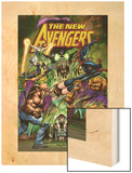 New Avengers No.16.1 Cover: Green Goblin, Luke Cage, Thing, Spider-Man, Norman Osborn, and Others Poster by Neal Adams