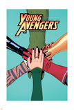 Young Avengers 12 Cover: Avengers (General) Plastic Sign by Jamie McKelvie