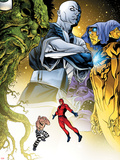 Avengers Academy No.7: Giant Man and Absorbing Man Flying Wall Decal by Mike McKone