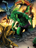 Avengers vs. Pet Avengers No.1: Fin Fang Foom Standing Plastic Sign by Ig Guara