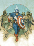 Captain America Theater of War: To Soldier On No.1 Cover: Captain America Plastic Sign by Phil Noto