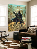 Cataclysm Ultimates 1 Cover: Nick Fury Wall Mural by Mukesh Singh