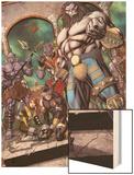 Steve Rogers: Super-Soldier Annual No.1: Blastaar Wood Print by Ibraim Roberson
