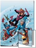 Marvel Adventures The Avengers No.19 Cover: Quicksilver Print by Tom Grummett