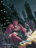 Daredevil No.501 Cover: Daredevil Plastic Sign by Esad Ribic