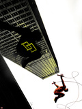 Daredevil: Reborn No.4 Cover: Daredevil Jumping from Buildings Wall Decal by  Jock