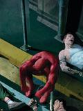 Daredevil No.504 Cover: Daredevil Plastic Sign by Esad Ribic