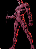 The Official Handbook Of The Marvel Universe Group: Daredevil Plastic Sign by David Finch