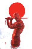 Daredevil: End of Days 8 Cover: Daredevil Plastic Sign by Alex Maleev