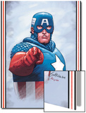 The New Invaders No.0 Cover: Captain America Posters by Steve Epting
