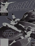 Daredevil No.181 Cover: Bullseye, Daredevil and Elektra Kunststof borden van Frank Miller