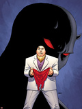 Daredevil No.510 Cover: Kingpin Standing Plastic Sign by John Cassaday