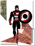 Captain America Corps No.3 Cover: Captain America Walking with his Shield Posters by Phil Jimenez