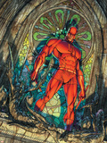 Daredevil No.100 Cover: Daredevil Wall Decal by Michael Turner