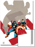 Captain America: White No.0 Cover: Captain America and Bucky Prints by Tim Sale