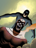 Shadowland No.4 Cover: Bullseye and Daredevil Flying Wall Decal by John Cassaday