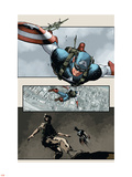 Captain America: The Chosen No.5 Cover: Captain America Wall Decal by Mitchell Breitweiser