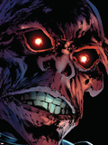 Captain America Reborn No.3 Headshot: Red Skull Plastic Sign by Rian Hughes