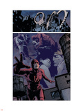 Daredevil No.98 Group: Daredevil, Elektra and Bullseye Wall Decal by Michael Lark