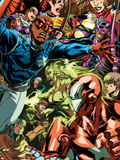 Dark Reign: Young Avengers No.5 Group: Patriot Plastic Sign by Mark Brooks