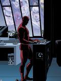 Daredevil No.10 Plastic Sign by Paolo Rivera