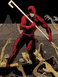 Daredevil No.9 Cover Plastic Sign by Paolo Rivera