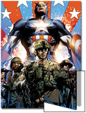 Captain America Theater of War: Ghosts of My Country No.1 Cover: Captain America Art by Butch Guice