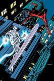 Daredevil 30 Cover: Daredevil, Silver Surfer Plastic Sign by Chris Samnee
