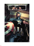 Captain America: Patriot No.1: Captain America Standing Plastic Sign by Mitchell Breitweiser