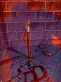 Powerless No.3 Cover: Daredevil Smashing Wall Decal by Michael Gaydos