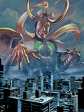 I Am an Avenger No.3: Loki Posing Plastic Sign by Mike Mayhew