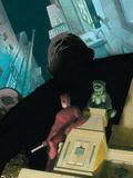 Daredevil No.503 Cover: Daredevil and Kingpin Plastic Sign by Esad Ribic