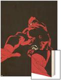 Daredevil: Father No.4 Cover: Daredevil Wood Print by Joe Quesada