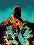 Shadowland: Power Man No.1 Cover: Power Man, Iron Fist, and Daredevil Running Wall Decal by Mike Perkins
