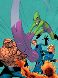 Marvel Age Fantastic Four No.11 Cover: Impossible Man Art by Randy Green