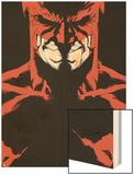 Daredevil Father No.5 Cover: Daredevil Wood Print by Joe Quesada