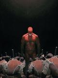 Daredevil No.502 Cover: Daredevil Plastic Sign by Esad Ribic