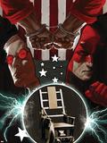 Daredevil No.107 Cover: Daredevil, Murdock and Matt Plastic Sign