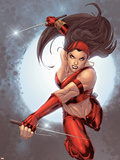 Ultimate Elektra No.5 Cover: Elektra Wall Decal by Salvador Larroca