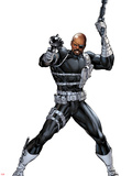Nick Fury with a Gun Wall Decal