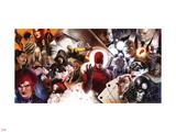 Daredevil No.500 Cover: Daredevil and Kingpin Plastic Sign