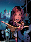 Black Widow No.4 Cover: Black Widow Wall Decal by Greg Land