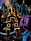 Fantastic Four No.602: Galactus Plastic Sign by Barry Kitson