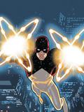 Captain Universe / Daredevil No.1 Cover: Daredevil Lifting Plastic Sign
