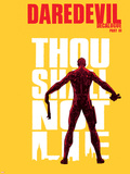 Daredevil 73 Cover: Daredevil Plastic Sign by Alex Maleev