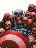 Captain America: The Chosen No.5 Cover: Captain America Plastic Sign by Mitchell Breitweiser