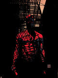 Daredevil No.60 Cover: Daredevil Plastic Sign by Alex Maleev