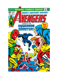 Avengers No.141 Cover: Beast Plastic Sign by George Perez